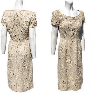 Vintage Wedding Dress 1940's Bullock's Los Angeles
